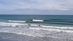 A few small lines at focky beach, Foxton Beach photo
