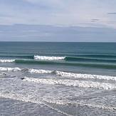 A few small lines at focky beach, Foxton Beach