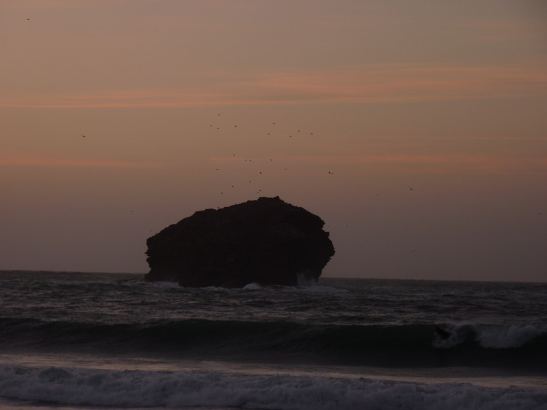 portreath sunset, Portreath Beach