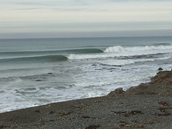 Winter swell, Crossroads photo