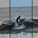 Patrick Mihalic surfing Tamarindo