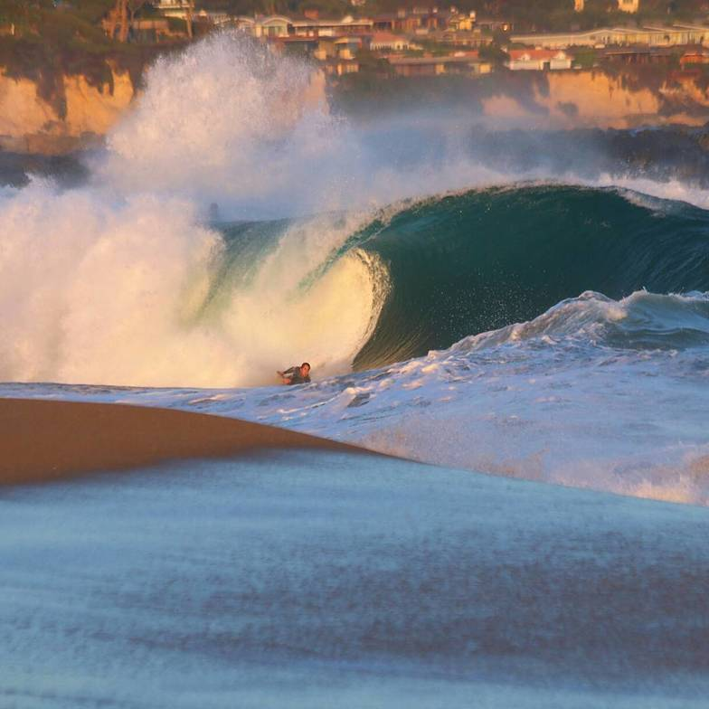 End of the day, The Wedge