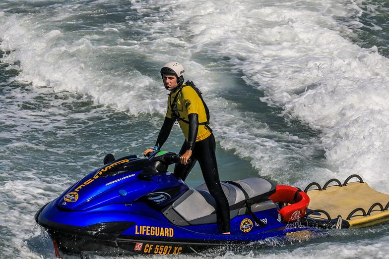 Lifeguard, Huntington Beach