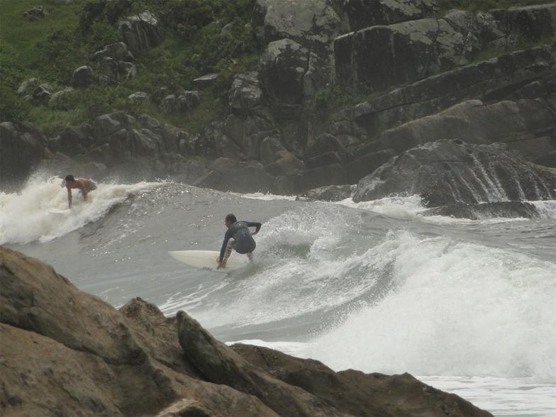 on the rocks, Matadeiro