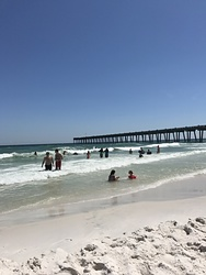Just another reason to live here❤️, Pensacola beach photo