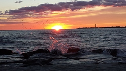 Sunset at the Cove- Cape May, NJ, The Cove Cape May photo