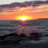 Sunset at the Cove- Cape May, NJ, The Cove Cape May