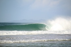 Pumping, Henderson Bay photo