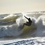 Surfing The Wave Hard, Garden City Pier