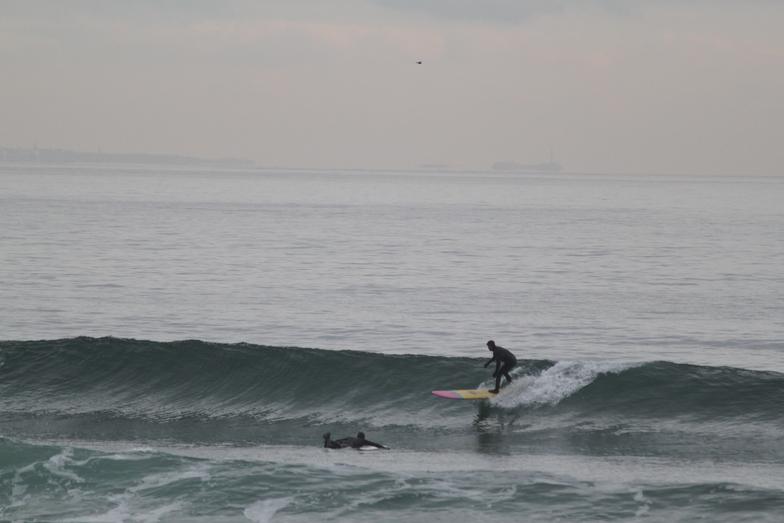 long board clean, Hampton Beach
