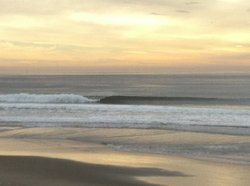 Nice Left at Manresa, Manresa State Beach photo