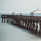 Pier, one day after Hurricane Irma 2017, Juno Pier