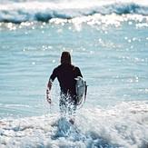 Surfer Dude, Juno Pier