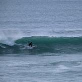 Around high tide at La Palue