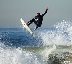 Nice wave!, El Porto Beach photo