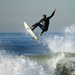 Nice wave!, El Porto Beach