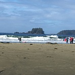 Sunny thanksgiving days, on the beach, Tofino (North Chestermans Beach)
