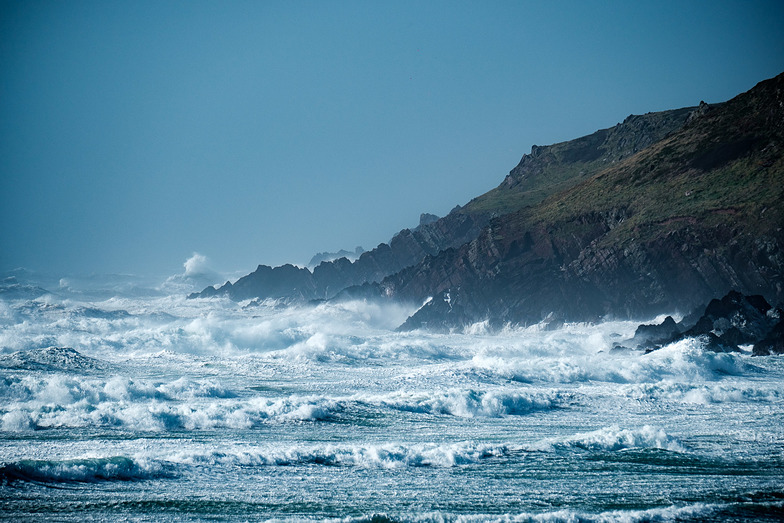 Storm Swell at Freshwater West
