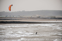Coney Beach Kitesurfer photo