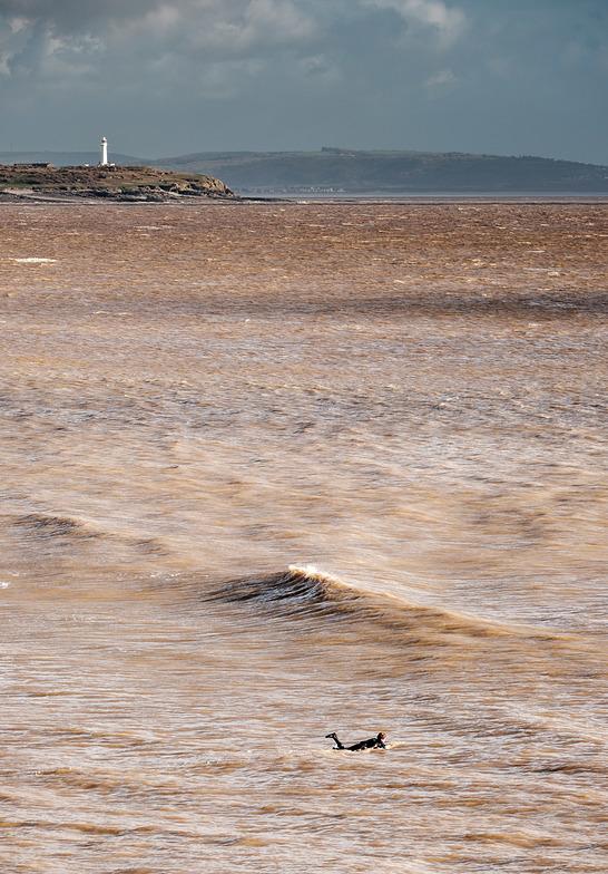Bristol Channel surf, The Knap