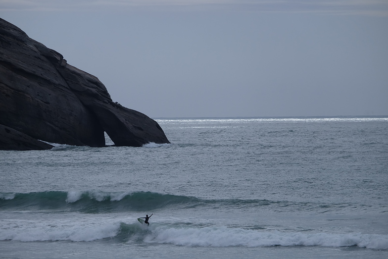 Local Surfer, Wharariki Beach