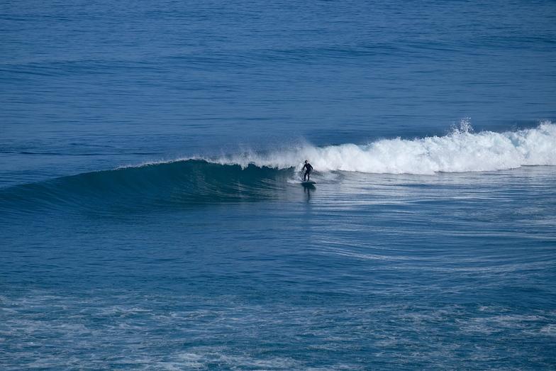 Alan surfs Glassy waves near Anatori, Anatori River