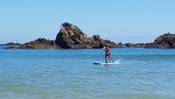 SUP, Tauranga Bay photo