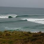 Spot the surfer, Anatori River