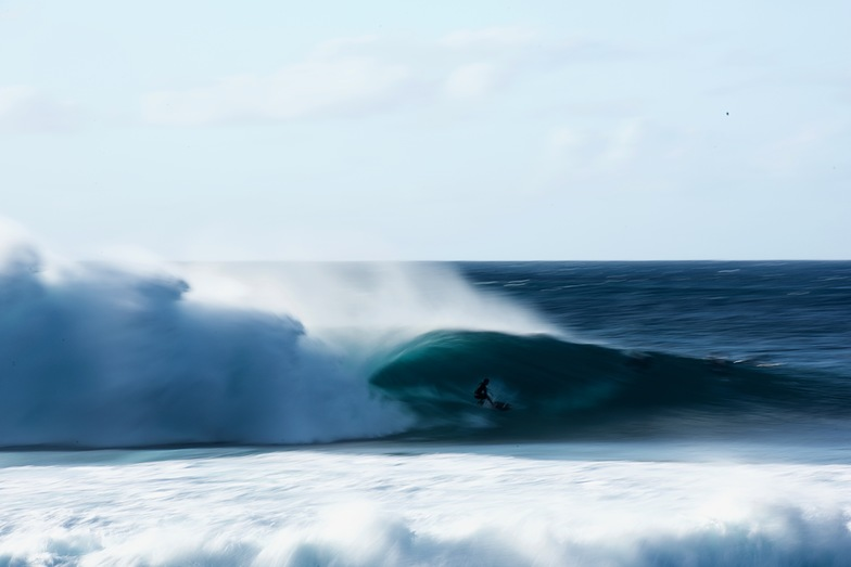 A moment in a few milliseconds, Banzai Pipeline and Backdoor