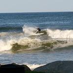 Benny Nadeau at home, photo jim ready, Moody Beach