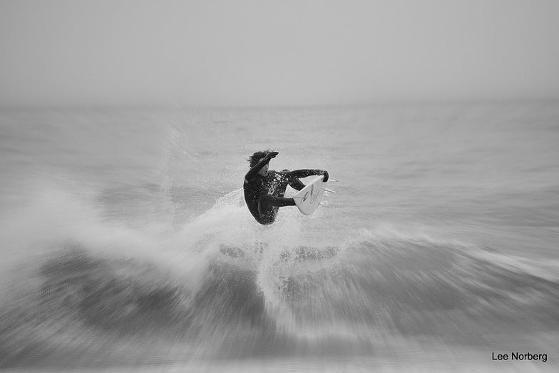"""Sideways Grab"", Garden City Pier"