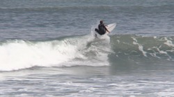 Surfer: Liam McCardle, Otaki Beach photo