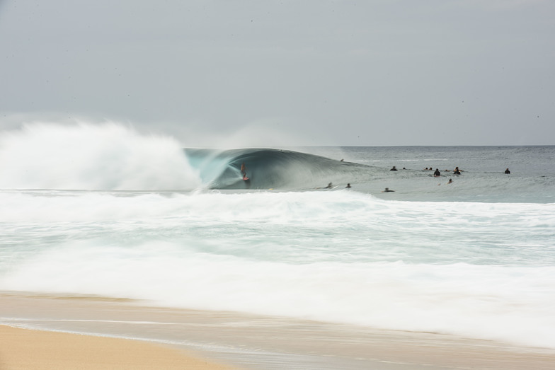 The perfect lunch roll, Banzai Pipeline and Backdoor