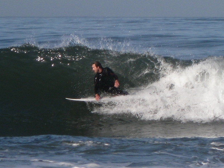 surfer about to stand up (cropped), Gillis