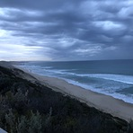 Stormy morning surf, Portsea Back Beach