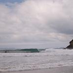 Low tide fun, New Chums