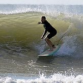 Fall time surf., Topsail Island