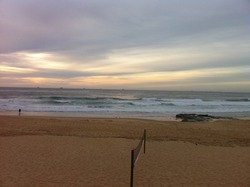 Christmas at Newy, Newcastle Beach photo