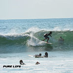 Moises surfing in Tamarindo