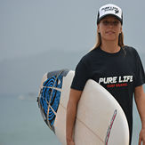 Isabelle repping the Pure Life, Tamarindo