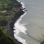 Surf village, faja, Praia do Norte-Azores