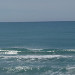Pines - small summer swell perfection, Wainui Beach - Pines