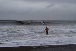 Winter Wind Swell, Klitmoller photo