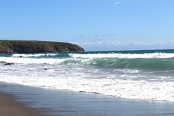Welsh beach, Aberdaron photo