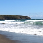 Welsh beach, Aberdaron
