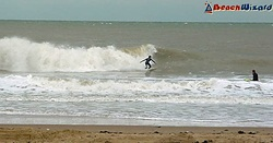 a nice left at joss bay  photo