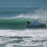 Chalet - day 3 of a south swell, Wainui Beach (Pines)