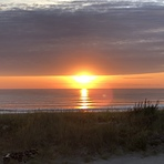 Sunrise by Adams Street, Nantasket Beach