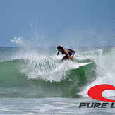 Johan Garcia surfing Playa Grande