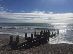 Pulsing Sunday after Storm Ali, East Wittering photo